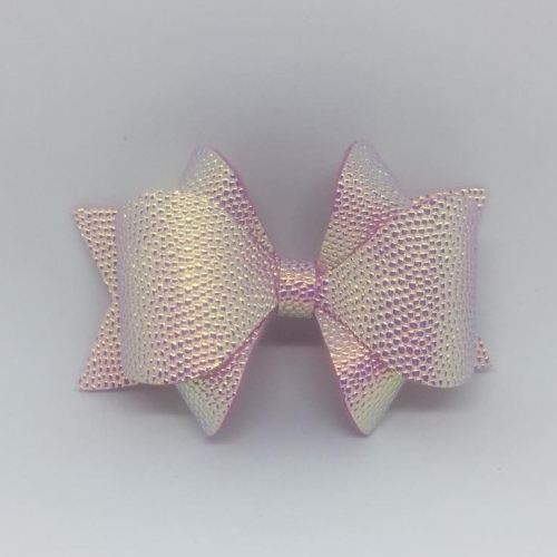 Bubble Pink Hair Bow