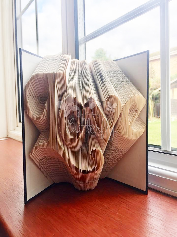 Love Book Sculpture
