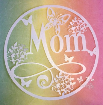 Mom - Paper Cutting Template *Commercial Use*