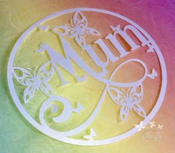 Mum - Paper Cutting Template *Commercial Use*