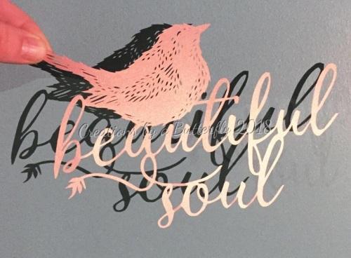 'Beautiful Soul' Paper cut