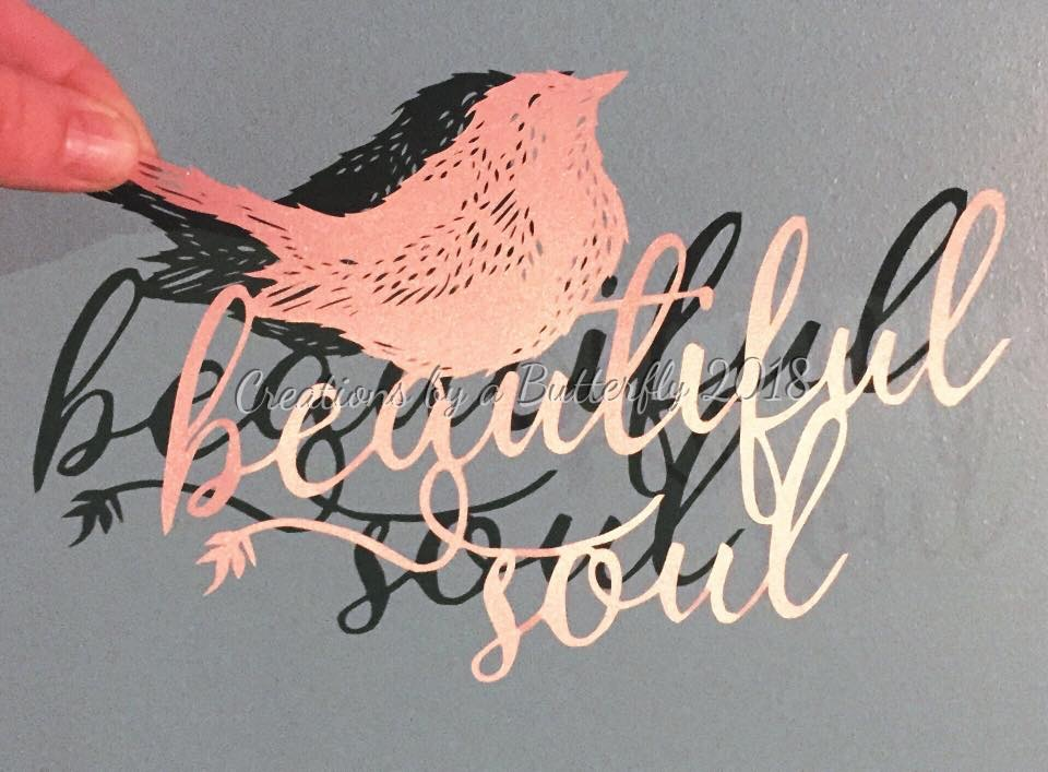 'Beautiful Soul' Paper cut