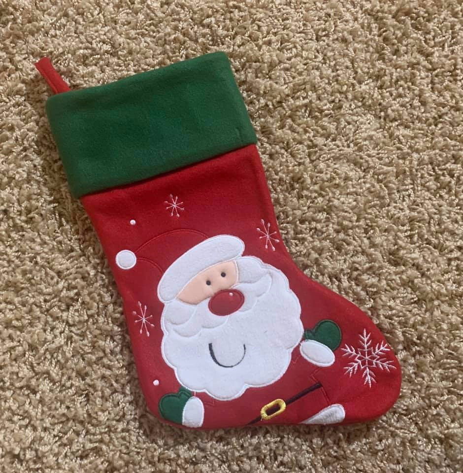 Personalised Reindeer Stocking