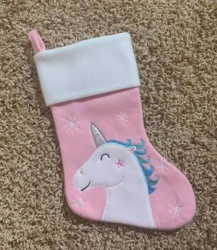 Personalised Unicorn Stocking