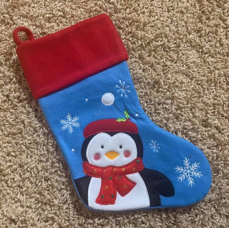 Personalised Santa Stocking