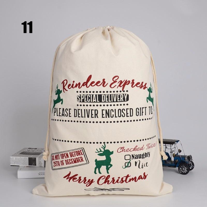 Reindeer Express Christmas Sack