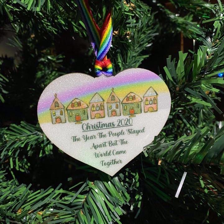 Christmas 2020 - Heart Shape MDF