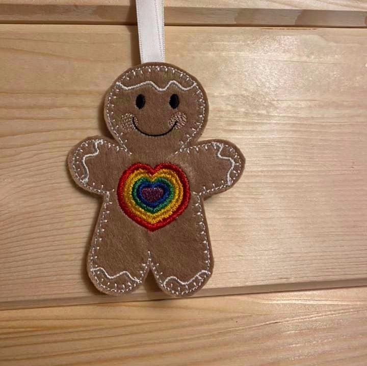 Rainbow Heart Ginger