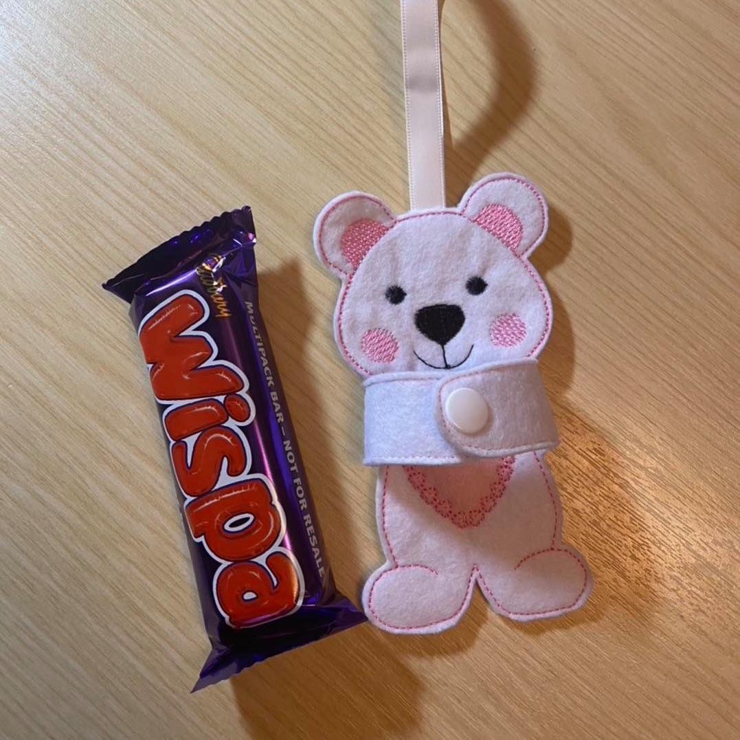 Teddy Chocolate Hugger