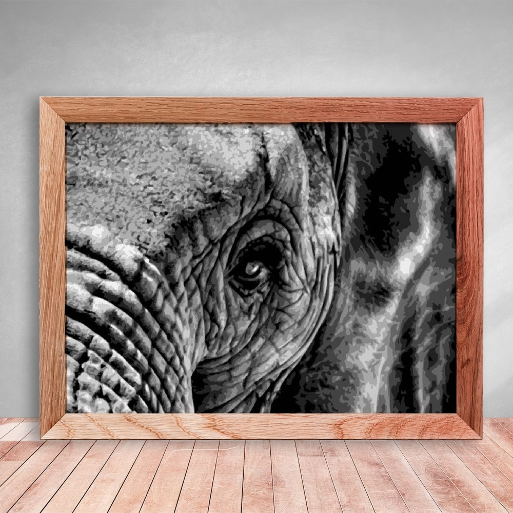 Elephant 2  - 8 Layer Paper Cutting template