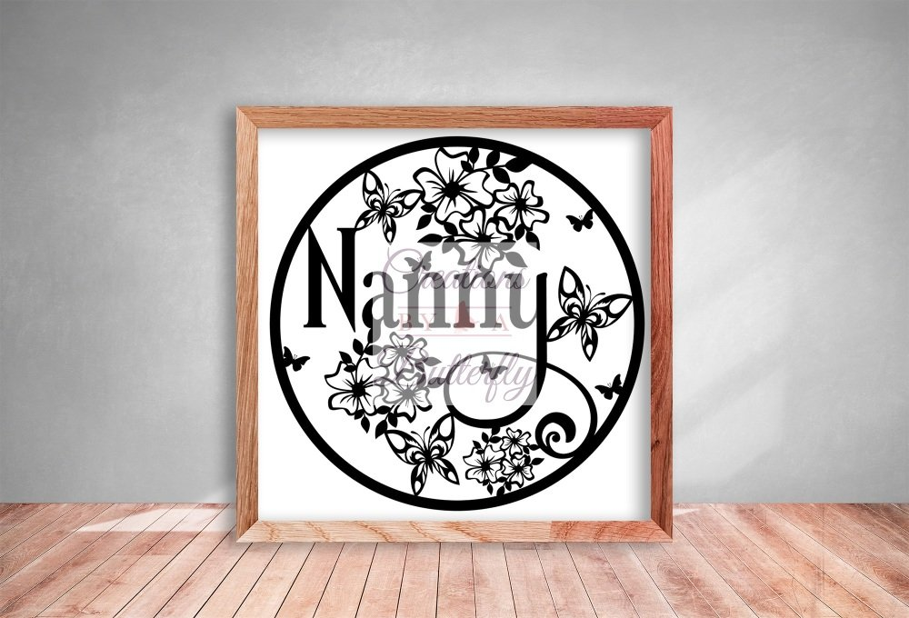 Nanny - Paper Cutting Template *Commercial Use*