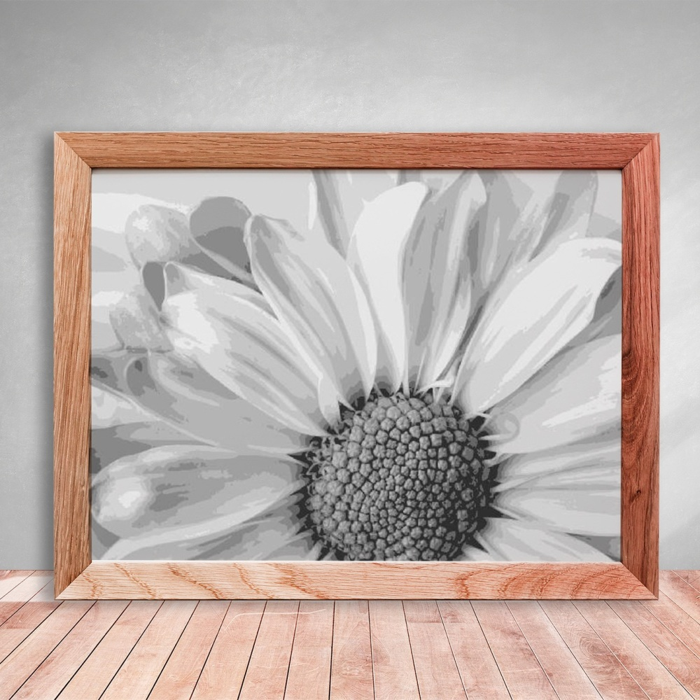Daisy Layered Paper Cutting Template -  8 layers