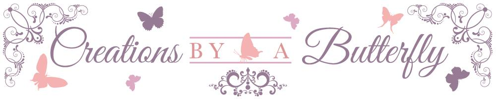 Creations By a Butterfly, site logo.