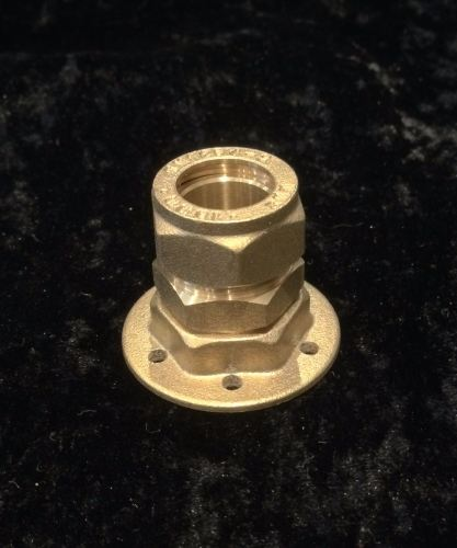 Solid Brass Base Fitting Maker Component