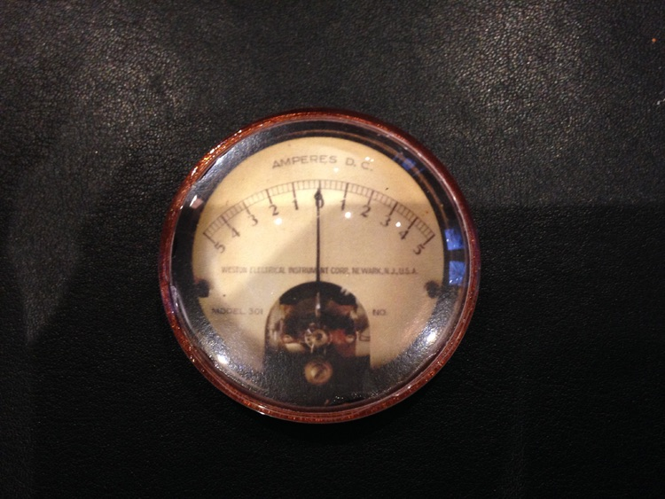 Amperes Dial