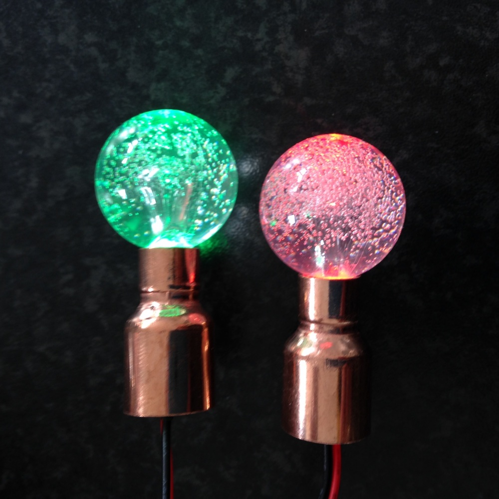 Red & Green Bubble Balls
