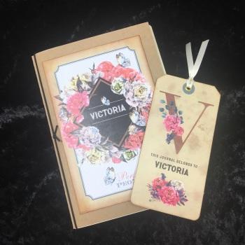 Perfect Peonies Mini Journal