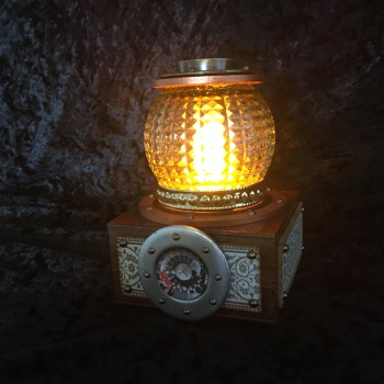 Flickering Steampunk Mood  Light