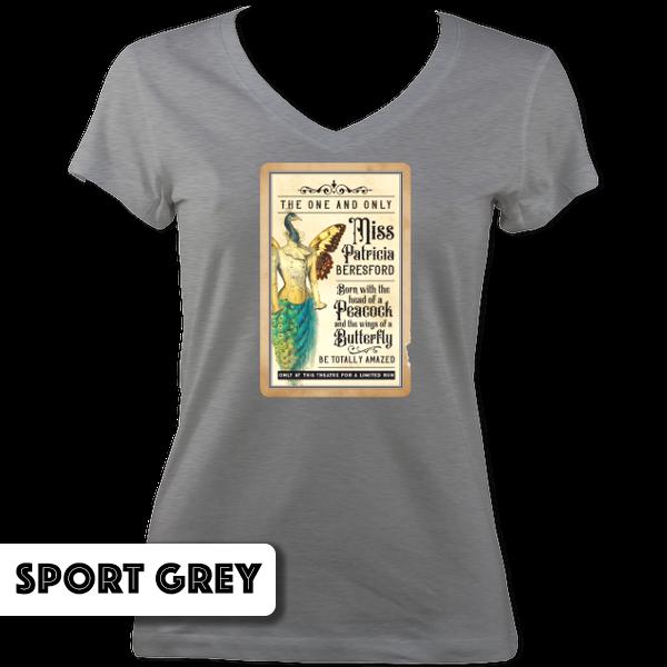 Miss Patricia Beresford V Neck T-Shirt