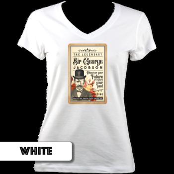 Sir George V Neck T-Shirt
