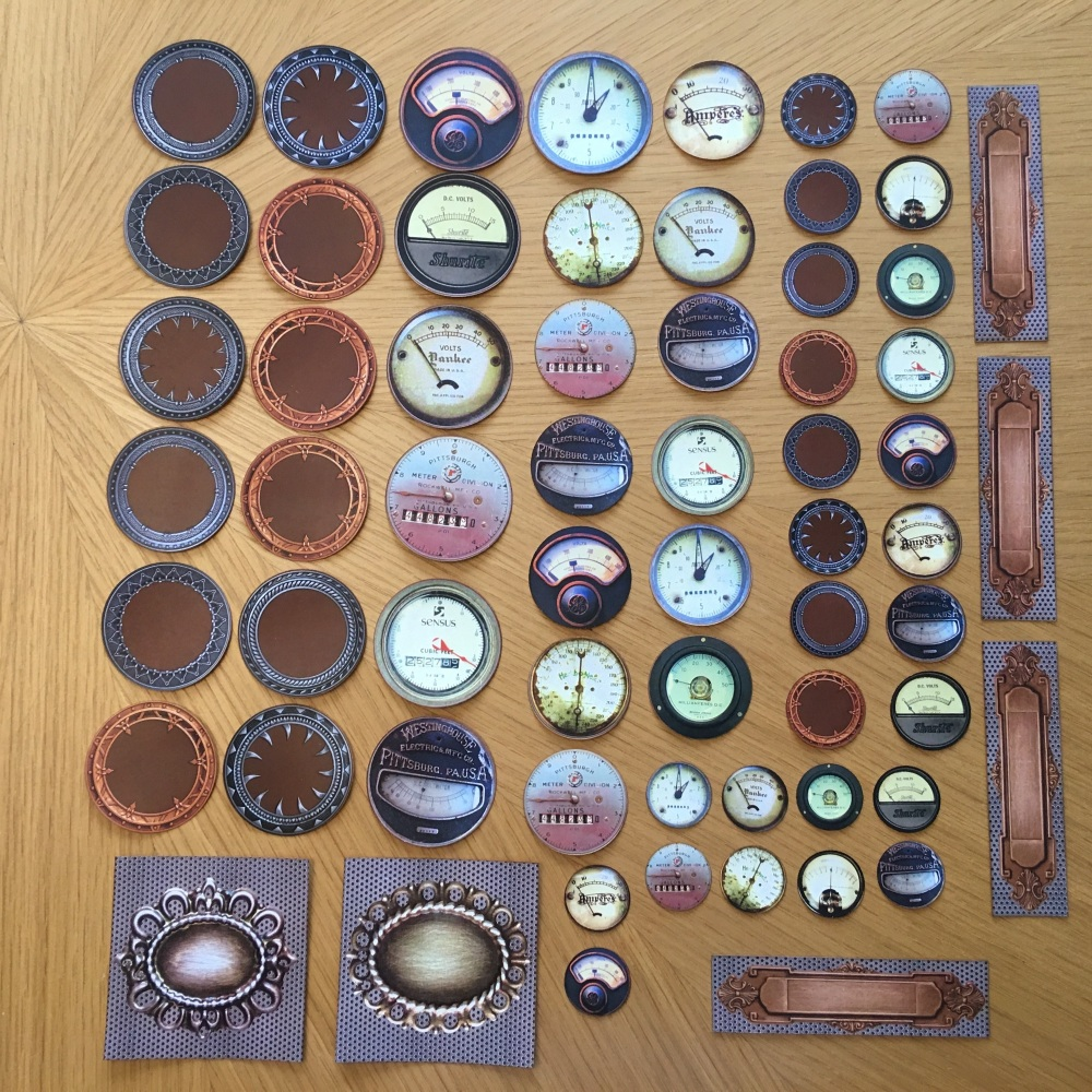 Steampunk Dial Builder Collection