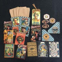 Magical Vintage Fortune Tellers Ephemera Set