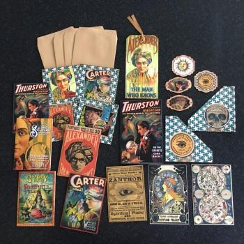 Magical Vintage Fortune Tellers Ephemera Set