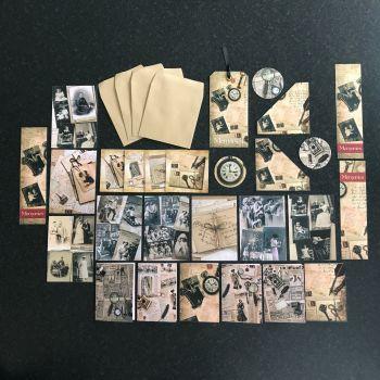 Memory Lane Vintage Ephemera Set