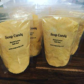 Sherbet Lemon Bath Dust