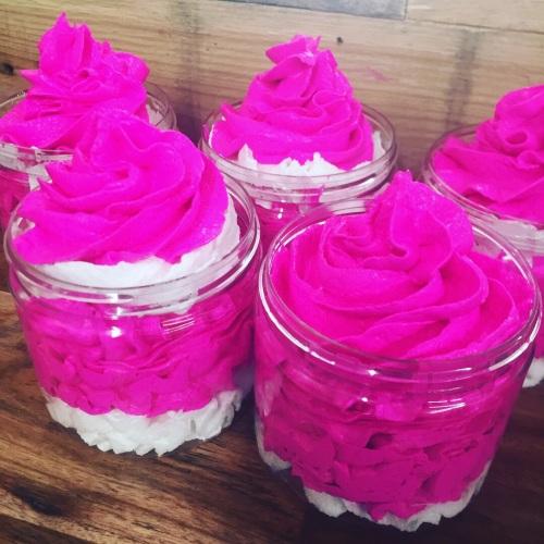 Pink Candy Foaming Sugar Scrub