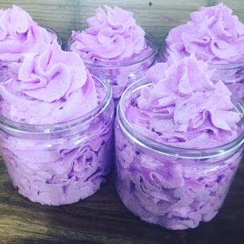Parma Violet Foaming Sugar Scrub