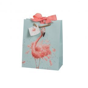 Medium Flamingo Gift Bag