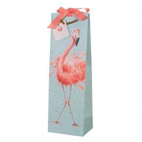 Pretty in Pink Bottle Gift Bag