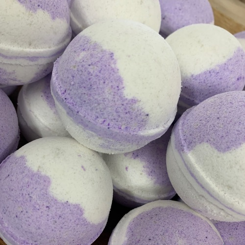 Parma Violet Foaming Bath Bomb