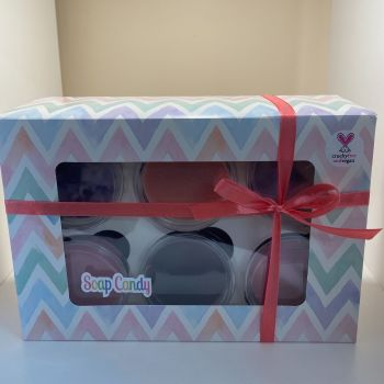 Gift set - box of 6 wax melts