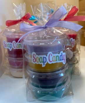 4 Pack Wax melts gift wrapped