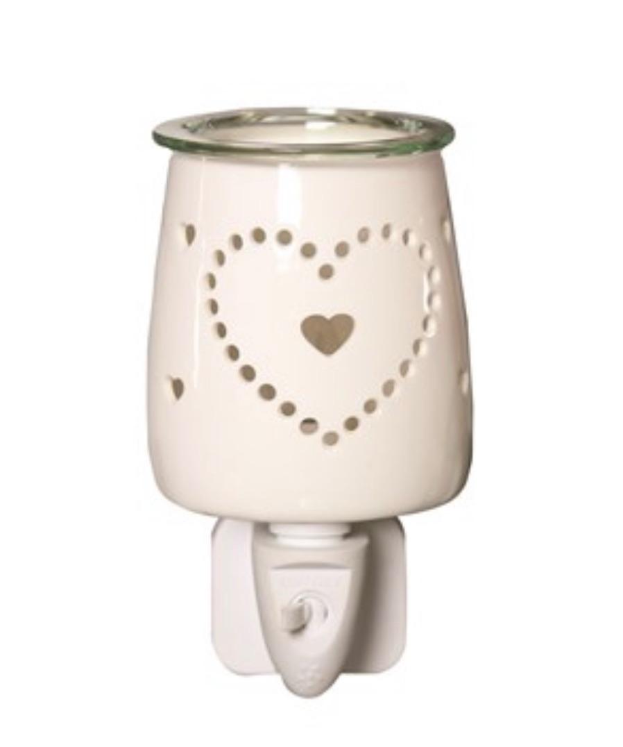 Heart Plug in Burner - stock due in week commencing 21st June