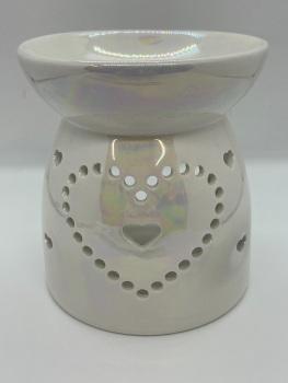 Lustre Heart Tea Light Burner