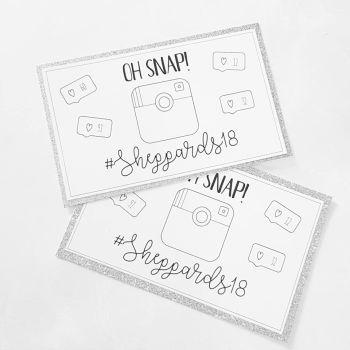 Oh Snap! Hashtag Social Media Cards