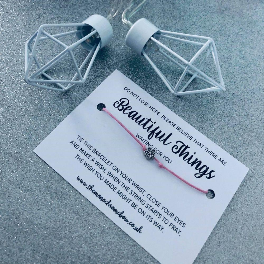 'Beautiful Things' Wish Bracelet