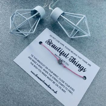 'Beautiful Things' Wish Bracelet