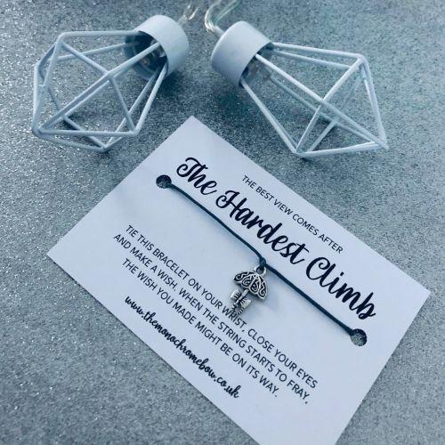 'The Hardest Climb' Wish Bracelet