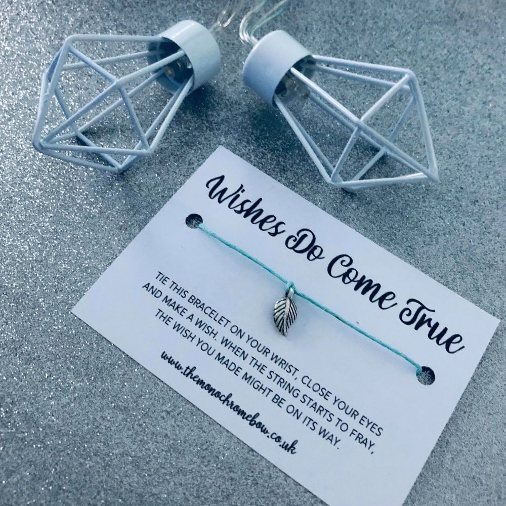 'Wishes Do Come True' Wish Bracelet