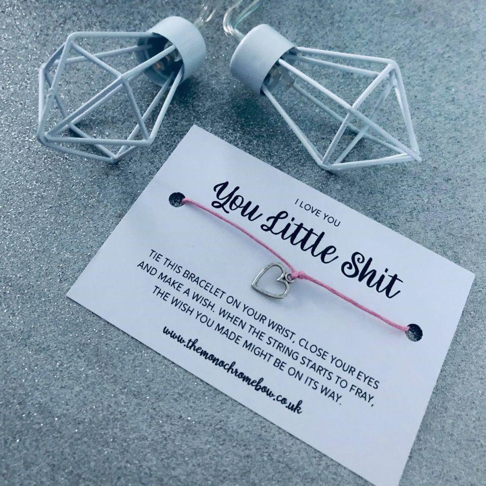 'You Little Shit' Wish Bracelet