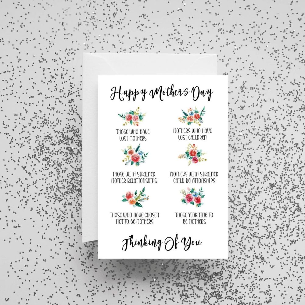 'Happy Mother's Day - Thinking of You' Card