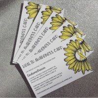 Endometriosis Health Awareness Card