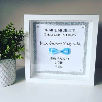 Twinkle Twinkle Little Star Personalised Frame