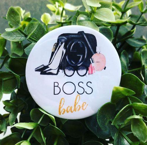 'Boss Babe' Badge