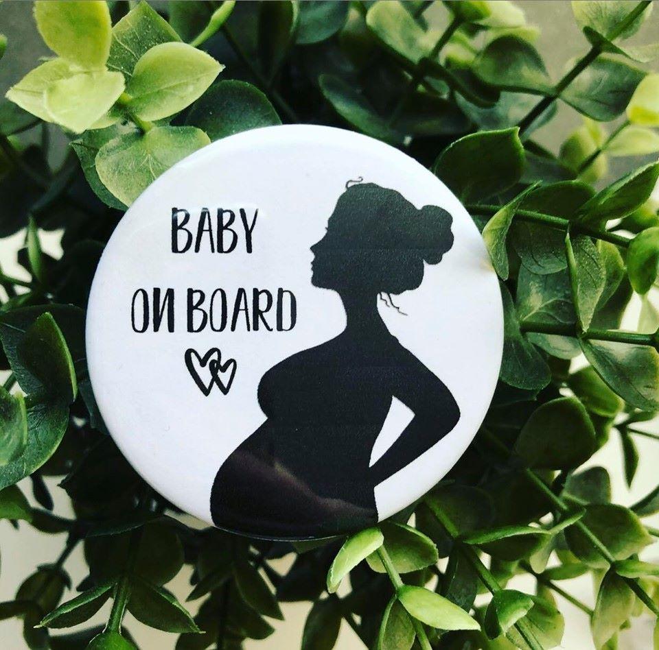'Baby On Board' Badge