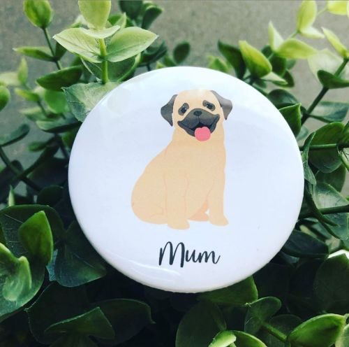 'Dog Mum' Badge
